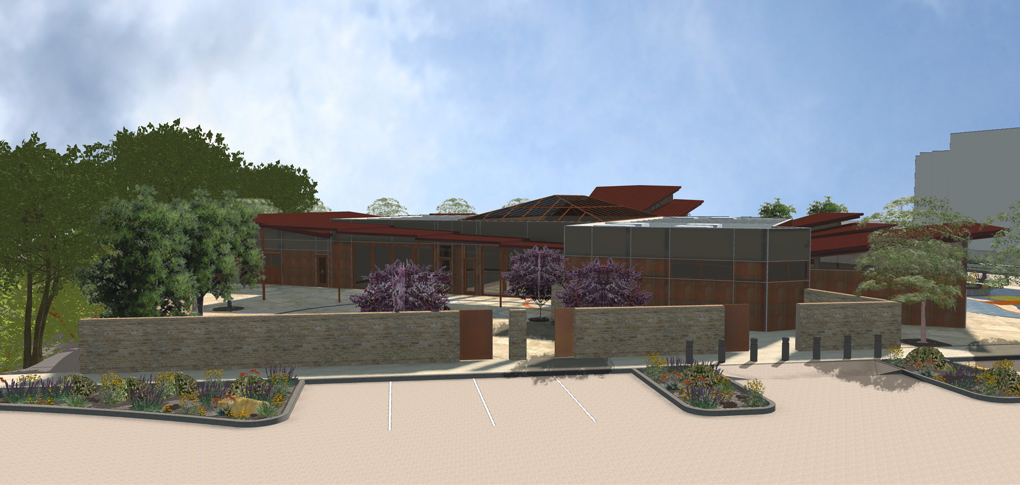 Grover Beach Conference Center Rendering CRSA