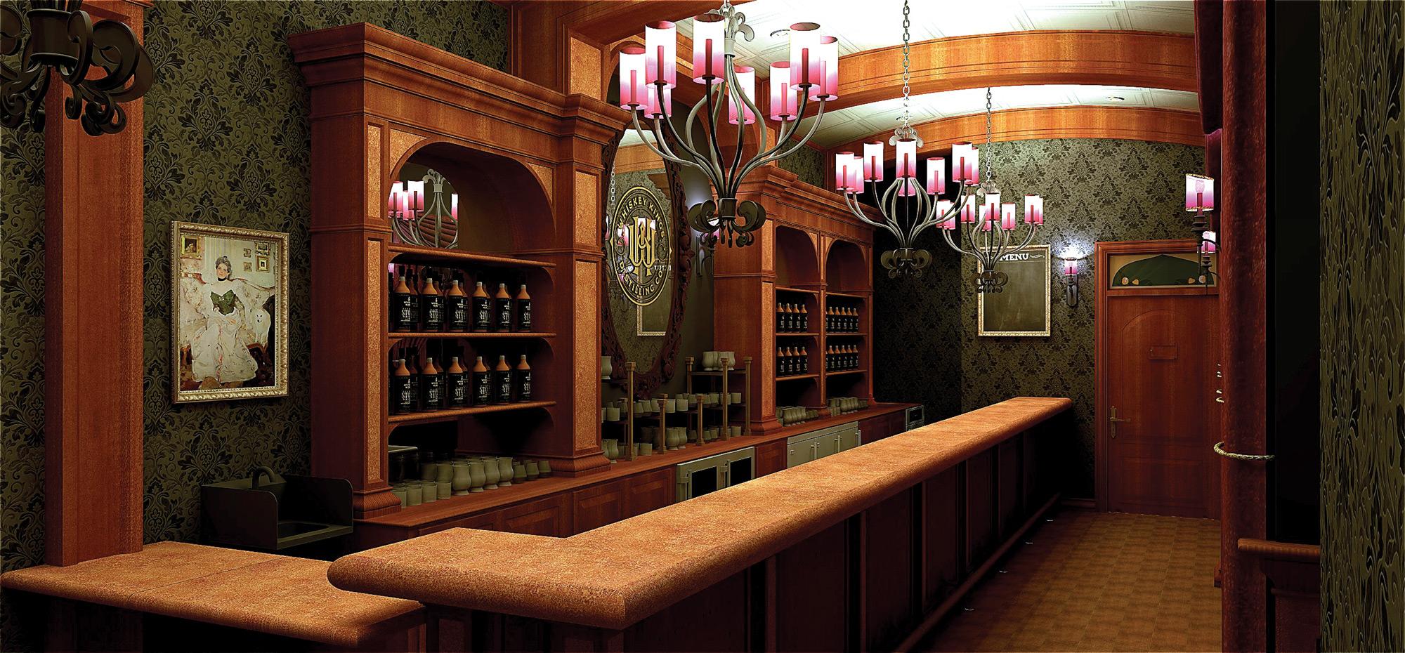 Whiskey Kings Interior