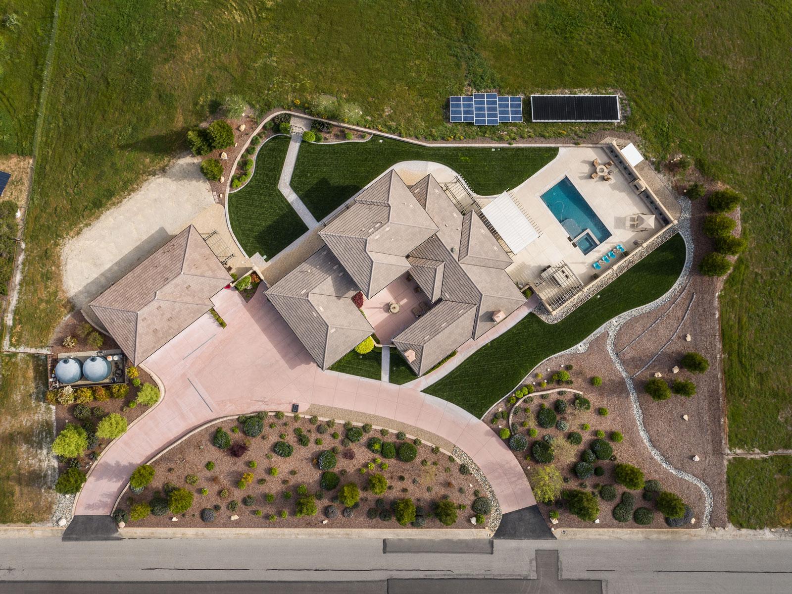 CRSA Kerr Residence Aerial Rendering