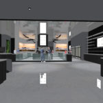 Natural Healing Center Interior Rendering SLO CRSA Architecture