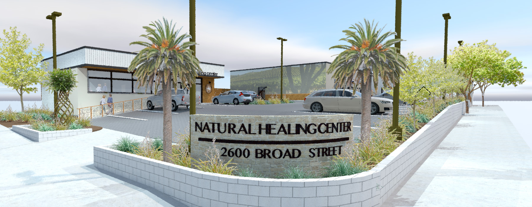 Natural Healing Center SLO CRSA Architecture